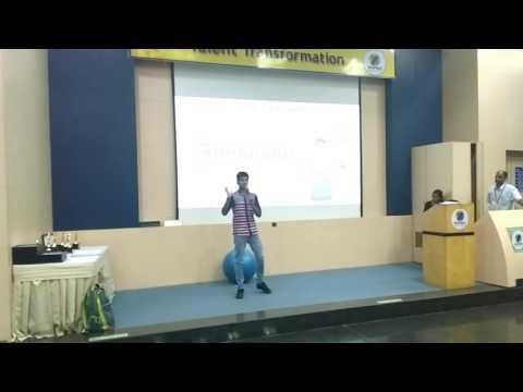 My Performance at Talent Transformation (part 1), Bangalore