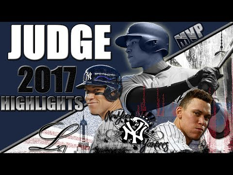 Aaron Judge 2017 Rookie Highlights (Part 1) || The Face of Baseball || ᴴᴰ