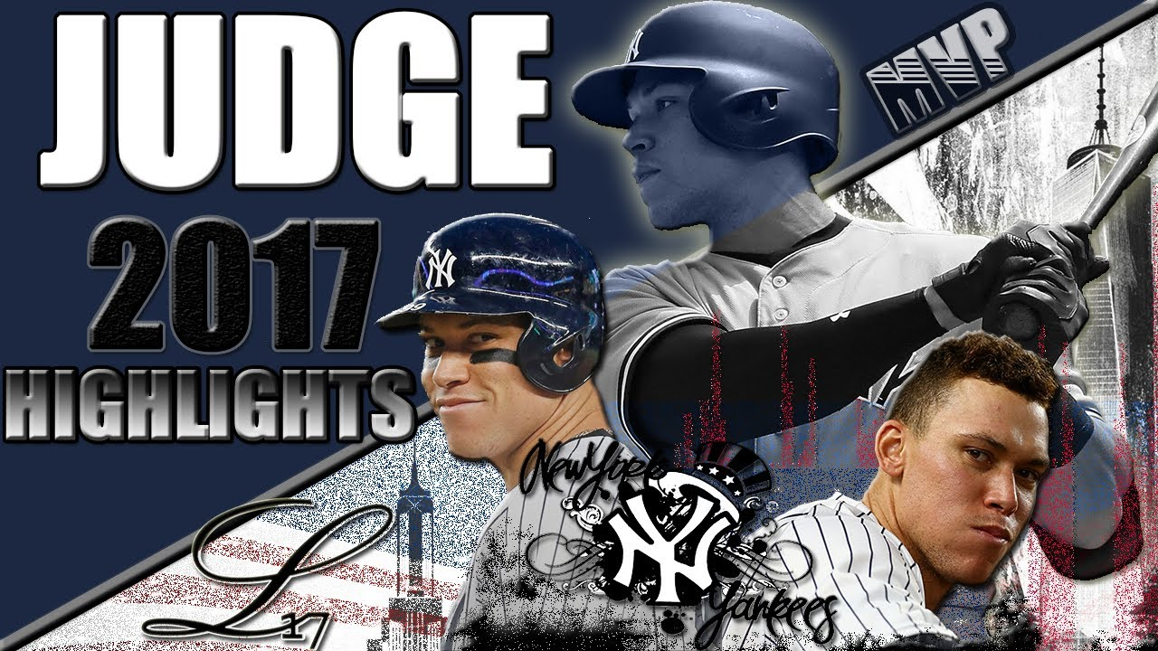 Aaron Judge 2017 Rookie Highlights Part 1 The Face Of Baseball ᴴᴰ