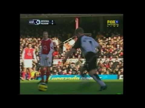 Arsenal 2-0 Fulham PL 2004/05 FULL MATCH