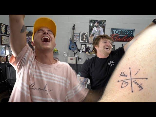 I Got Kian Lawleys Name Tattooed On Me And He Gave Me A Nice Hug