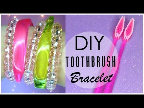 Diy Bracelet Out Of A Toothbrush
