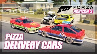 Forza Horizon 3 - Best Pizza Delivery Car! (House Delivery Cha…