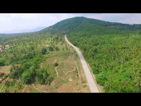 Amazing flight above Koh Samui by drone DJI Phantom 3.