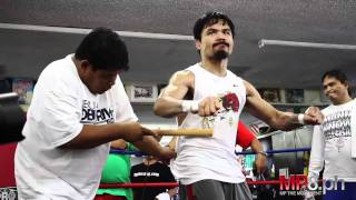 Manny Pacquiao - Manny Pacquiao Experiences Real Pain