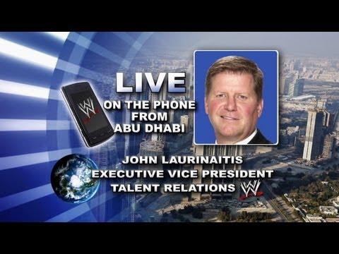 SmackDown: Raw Interim General Manager John Laurinaitis ...