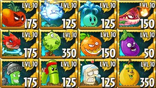 All NEW Premium Plants Power-Up! in Plants vs Zombies 2