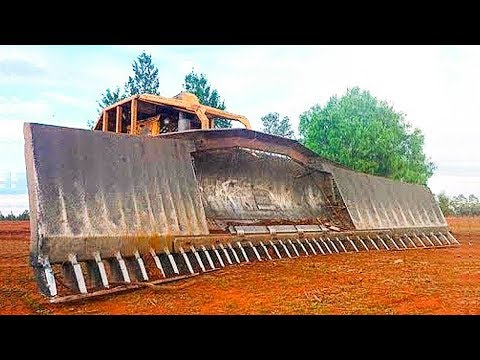 Extreme Bulldozer Forest Clearance Equipment - Hug Mega Machines - Forestry Mulcher Cutting