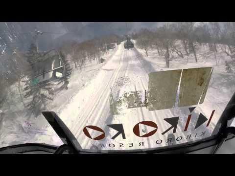 【SKI】Lift, Kiroro Snow World. Hokkaido, JAPAN