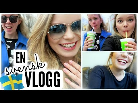 My First SWEDISH Vlog [With Subtitles]