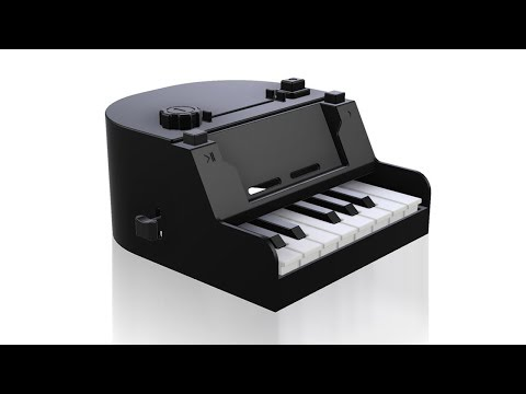 Nintendo Labo piano improvements tutorial 3d printing