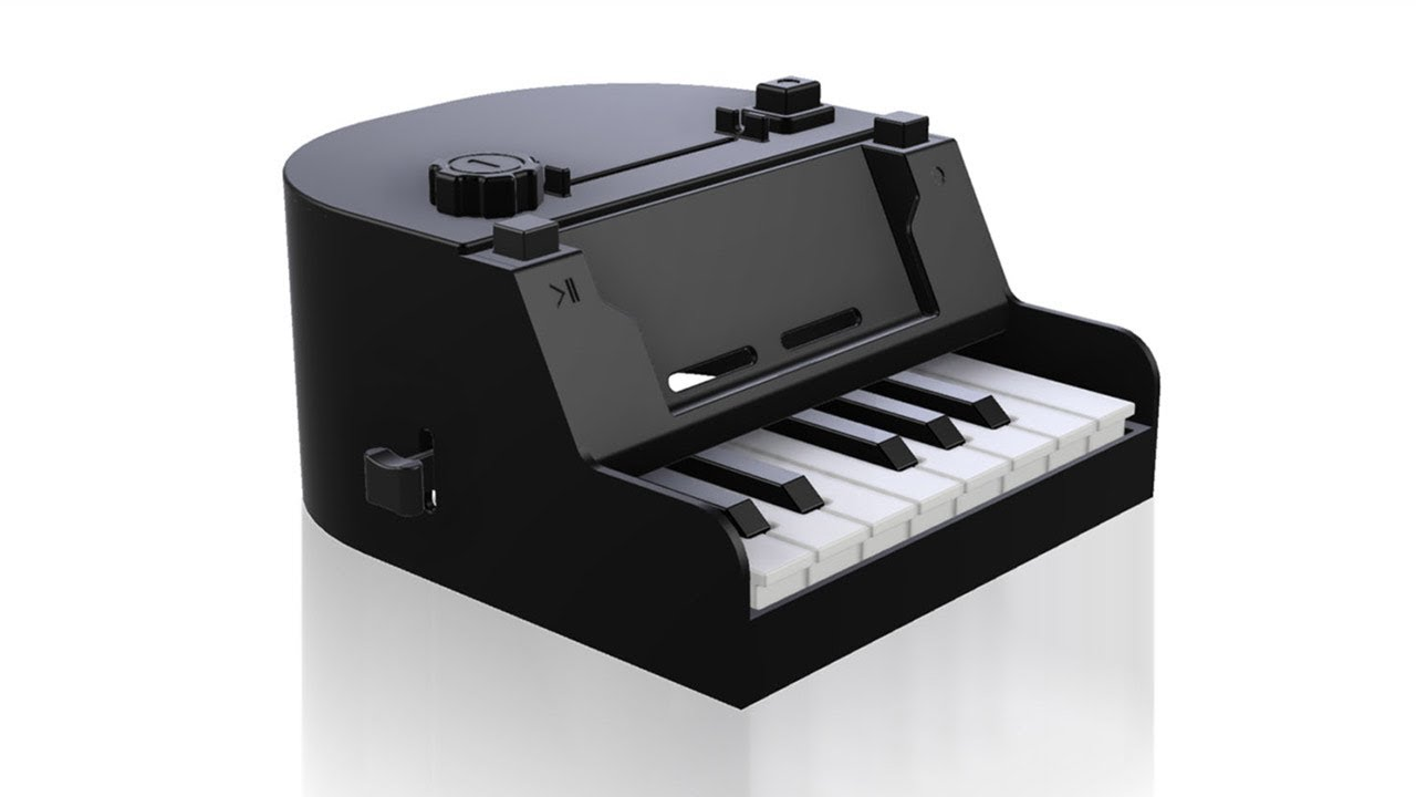 3D Printed Nintendo Labo Piano Does Away With Cardboard Keys