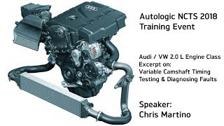 VW / Audi Variable Valve Timing Testing & Diagnosing The Best Methods