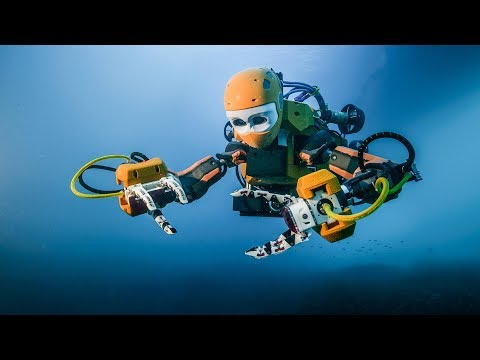Aquanaut, Underwater Transformer That Transforms Into A Skilled Humanoid Robot.