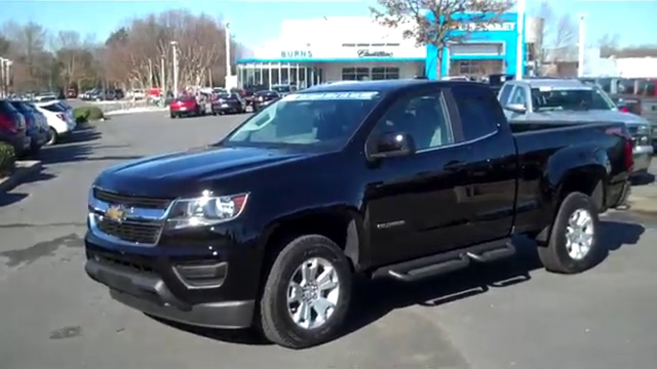 2016 Chevrolet Colorado Ext Cab 4wd 4x4 Black, Rock Hill ...