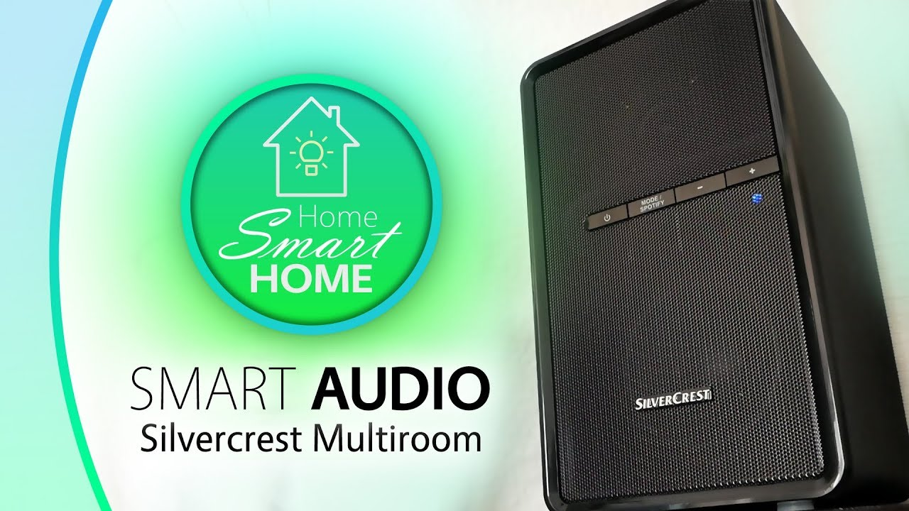 smart audio silvercrest multiroom smart und g nstig youtube. Black Bedroom Furniture Sets. Home Design Ideas