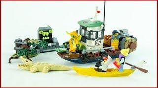 LEGO HIDDEN SIDE 70419 Wrecked Shrimp Boat Construction Toy - UNBOXING