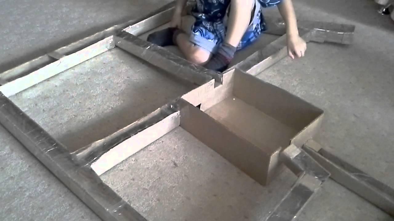 Как сделать лабиринт для хомяков своими руками в домашних условиях