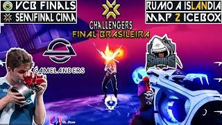 WINNER TO UPPER FIΝAL ! GAMELANDERS vs SHARKS   BR Challengers Playoffs   VODS Valorant Mundi