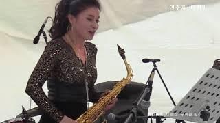 천안흥타령춤축제    연주자  박찬임 이미숙 아바듀엣  2018.9.14