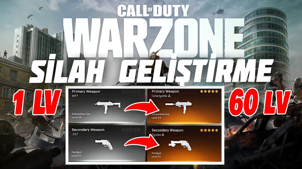 Warzone Görev Yaparak Silah Geliştirme Rehberi | Call of Duty Warzone