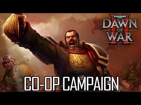 When Folks Are Away, The Boys Will Play... Old RTS Games! - Dawn Of War II COOP With CaptainShack