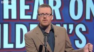 Mock the Week - UNLIKELY THINGS TO HEAR ON A CHILDREN
