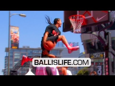 BEST Dunk Contest Of 2011!! Kenny Dobbs Wins; Exile Breaks Out NEW Dunk!