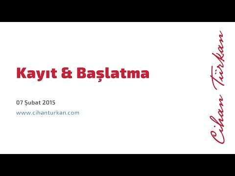 Kayıt Ve Başlatma 20150207 Cihan Türkan Amway N21