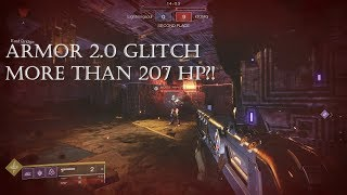 207+ HP with Resilience 10 and Armor 2.0 GLITCH / BUG?!