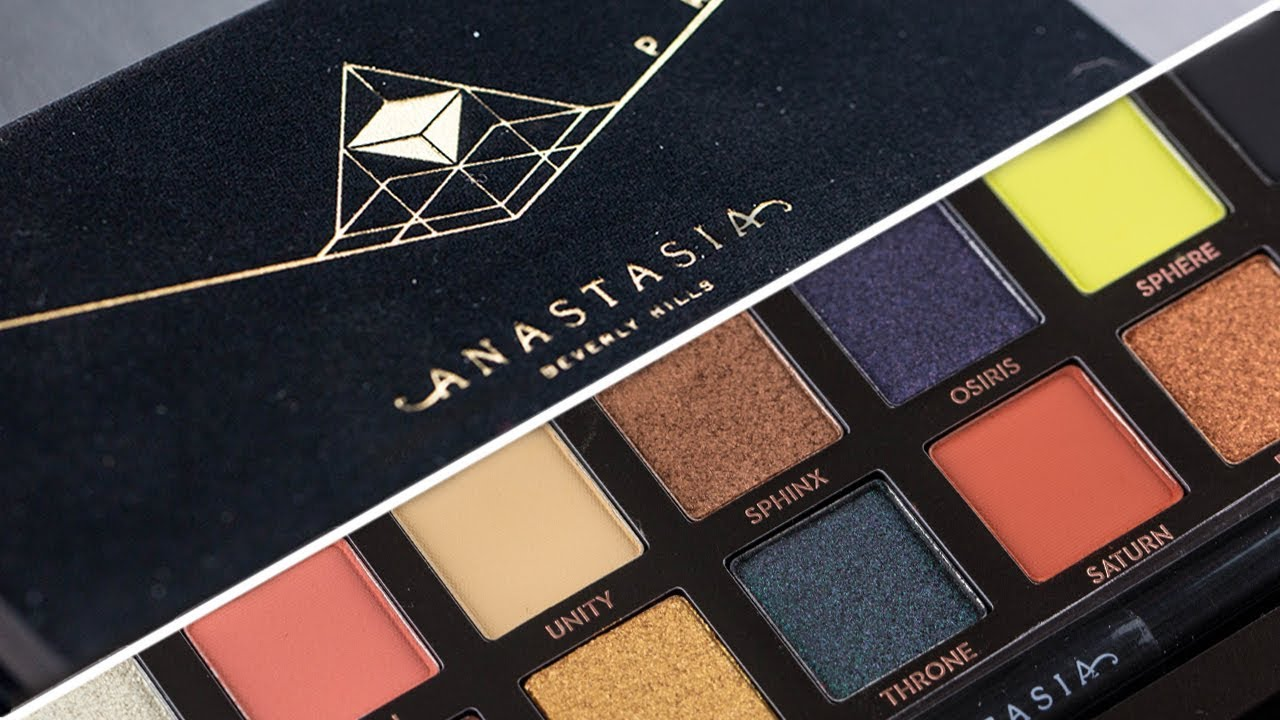ABH Prism Eyeshadow Palette Review And Swatches