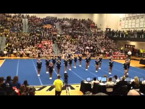 Lincoln Way East Cheer 2015 2016 Lwn Youtube