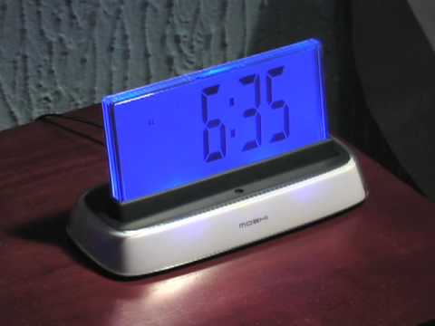 Moshi Talking Alarm Clock