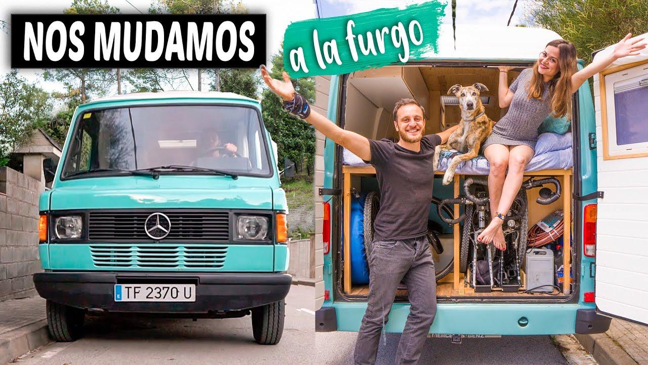 Nuestro día a día viviendo en una furgoneta camper 🚐 MUDANZA y primeros días en la VAN LIFE