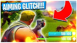 CAN'T AIM IN GLITCH in FORTNITE! | TBNRKENWORTH