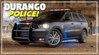 2019 Dodge Durango Pursuit - Dodge Unveils New Police Car