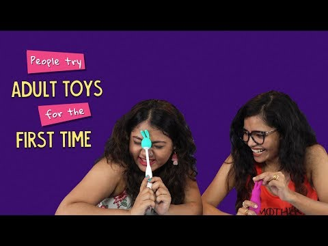 People Try Adult Toys For The First Time   Ok Tested