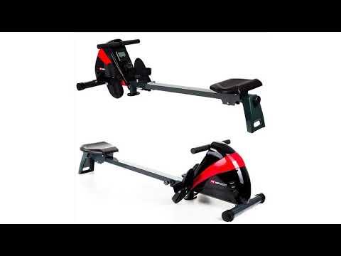 hop-sport-rudergerät-boost-ruderzugmaschine-mit-computer-&-magnetbremssystem