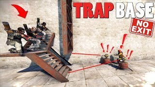 TRAPPING a Salty Team & FUNNY TRAPBASE Moments