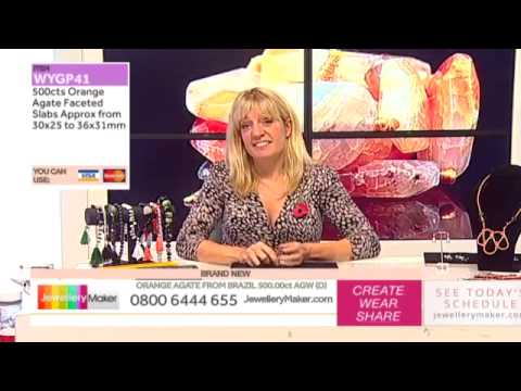 How to Make Beaded Jewellery: JewelleryMaker LIVE 30/10/2014