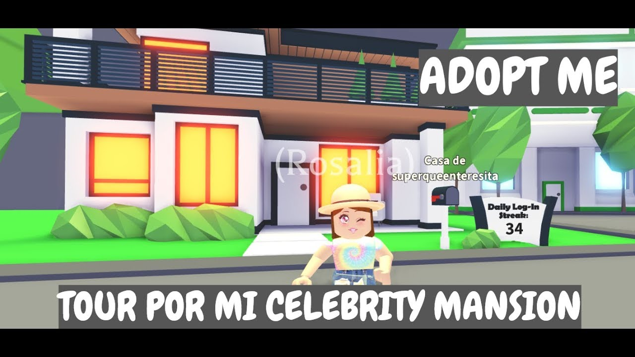 Reformo Mi Celebrity Mansion De Adopt Me Music Jinni - la triste historia navide#U00f1a de goldie roblox titi juegos