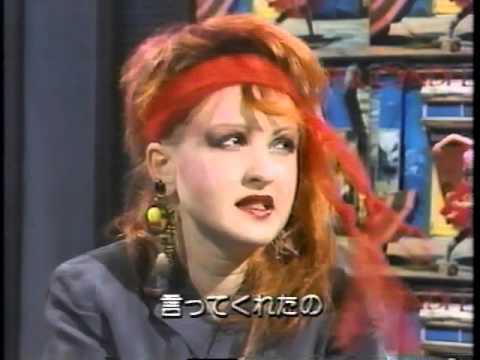 Cyndi Lauper interview (1984 Japan)