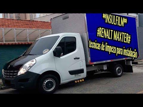 insulfilm #RENALT MASTER tecnicas de limpeza para instalação