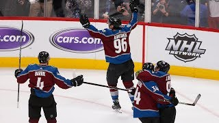 Mikko Rantanen comes up clutch to tie game, then win it in OT for Avalanche