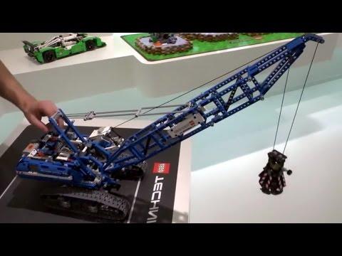 NEW! LEGO Technic 42042 Crawler Crane Motorized - YouTube