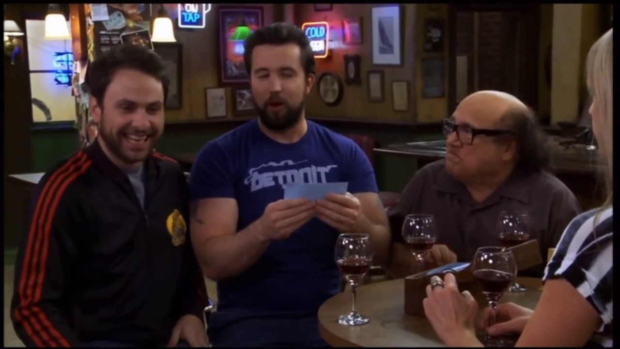 Download some of my favorite always sunny moments