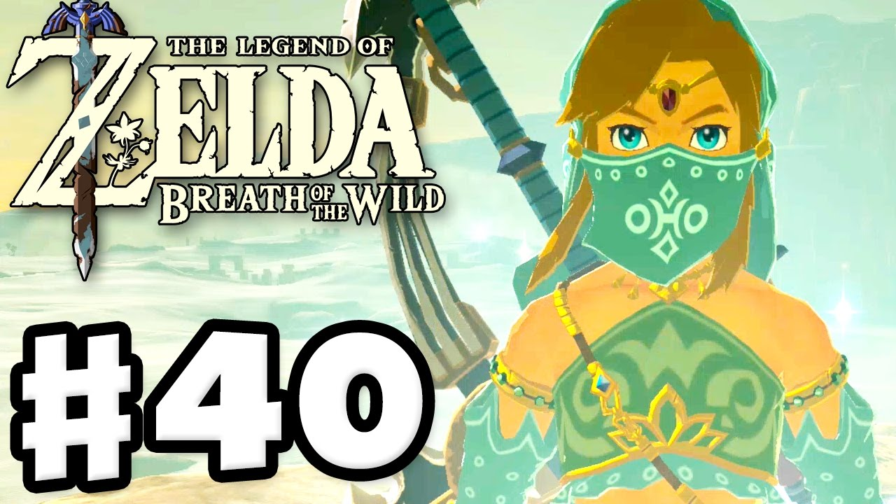 Female Link The Legend Of Zelda Breath Of The Wild Gameplay Part 40