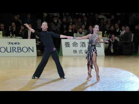 4K 2017 WDSF World Open Latin in Tokyo | Nicolaj Lund - Marta Kock, DEN | Final JIVE
