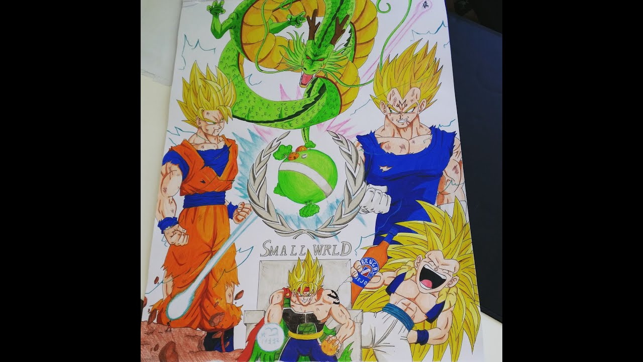 Gotenks Super Saiyajin 3 - Dragon Ball Z Kids Coloring Pages | 720x1280