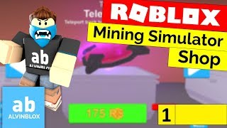 Roblox Mining Simulator Shop Tutorial - [Part 1] [Read Description To Fix]